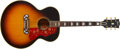 Musical Instruments:Acoustic Guitars, Late-1960s Gibson J-200 Custom Acoustic Guitar, #849213.... (Total:2 Items)