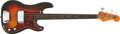 Musical Instruments:Bass Guitars, 1962 Fender Precision Sunburst Bass, #75868.... (Total: 2 Items)