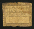 Colonial Notes:Maryland, Maryland August 14, 1776 $1/3 Very Good.. ...