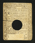 Colonial Notes:Connecticut, Connecticut July 1, 1780 2s/6d Extremely Fine.. ...