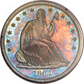 Patterns, 1864 50C Half Dollar, Judd-391, Pollock-459, Low R.7, PR65 PCGS.CAC....