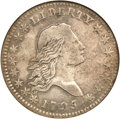 Early Half Dollars, 1795 50C 2 Leaves VF20 NGC. O-107a, R.5....