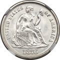 Seated Dimes, 1876 10C MS67 NGC....