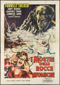 "Movie Posters:Science Fiction, The Crawling Eye (Euro International, 1959). Italian 4 - Foglio(55"" X 78""). Science Fiction.. ..."