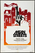 "Movie Posters:Crime, Mean Streets (Warner Brothers, 1973). One Sheet (27"" X 41"").Crime.. ..."