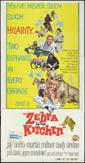 """Movie Posters:Comedy, Zebra in the Kitchen (MGM, 1965). Three Sheet (41"""" X 81""""). Comedy.. ..."""