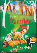 "Movie Posters:Animated, Bambi (Buena Vista International, R-1989). German A1 (23.25"" X33""). Animated.. ..."