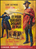 """Movie Posters:Western, For a Few Dollars More (United Artists, R-1970s). French Grande (47"""" X 63""""). Western.. ..."""