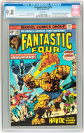Bronze Age (1970-1979):Superhero, Fantastic Four #159 (Marvel, 1975) CGC NM/MT 9.8 White pages....