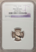 Early Half Dimes: , 1794 H10C --Damaged--NGC Details. Fine. LM-4. NGC Census: (4/112).PCGS Population (3/146). Mintage: 7,700. Numismedia Wsl....