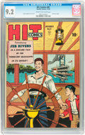 Golden Age (1938-1955):Miscellaneous, Hit Comics #61 (Quality, 1949) CGC NM- 9.2 Cream to off-white pages....