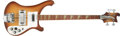 Musical Instruments:Bass Guitars, 1982 Rickenbacker 4001 Bass, #VH2044.... (Total: 2 Items)