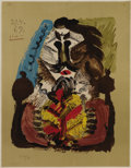 Fine Art - Painting, European:Contemporary   (1950 to present)  , Pablo Picasso (Spanish, 1881-1973). . Imaginary Portraits(#16 of a series of 29) . 1969. Lithograph. Signed...