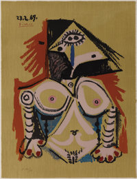 Pablo Picasso (Spanish, 1881-1973)  Imaginary Portraits (#19 of a series of 29)