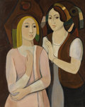 Fine Art - Painting, European:Contemporary   (1950 to present)  , Christo Todorov (Yugoslavian, born 1935). . Maturity. 20th century. Oil on canvas. Initialed lower right. 3...