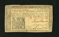 Colonial Notes:New Jersey, New Jersey March 25, 1776 1s Very Fine....