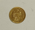 Mexico, Mexico: Republic gold Peso 1900/800 Go-R,...