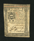Colonial Notes:Pennsylvania, Pennsylvania October 1, 1773 10s Extremely Fine-About New....