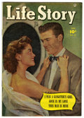 Golden Age (1938-1955):Romance, Life Story V5#27 Mile High pedigree (Fawcett, 1951) Condition:VF....