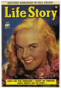 Golden Age (1938-1955):Romance, Life Story V3#17 Mile High pedigree (Fawcett, 1950) Condition: VF+....