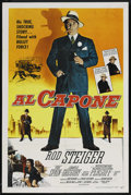 "Movie Posters:Crime, Al Capone (Allied Artists, 1959). One Sheet (27"" X 41""). Crime. ..."