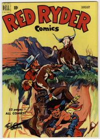 Red Ryder Comics #90 Mile High pedigree (Dell, 1951) Condition: NM