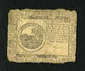 Colonial Notes:Continental Congress Issues, Continental Currency February 17, 1776 $6 Very Good. Edge wear isnoticed....