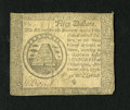 Colonial Notes:Continental Congress Issues, Continental Currency September 26, 1778 $50 Fine. This is a niceContinental with a large piece of mica at bottom center....