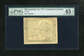 Colonial Notes:Continental Congress Issues, Continental Currency September 26, 1778 $60 PMG Choice ExtremelyFine 45 EPQ. The serial number has faded, but some of the d...
