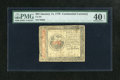 Colonial Notes:Continental Congress Issues, Continental Currency January 14, 1779 $35 PMG Extremely Fine 40EPQ. The $35 denomination is found only in this eleventh and...