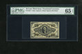 Fractional Currency:Third Issue, Fr. 1253 10c Third Issue PMG Gem Uncirculated 65 EPQ. This is a scarce Friedberg number with a red back and autographed sign...