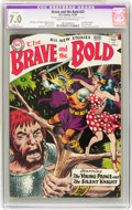 Silver Age (1956-1969):Adventure, The Brave and the Bold #22 (DC, 1959) CGC Apparent FN/VF 7.0 Slight (A) Cream to off-white pages....