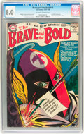 Silver Age (1956-1969):Adventure, The Brave and the Bold #15 (DC, 1957) CGC VF 8.0 Off-white to white pages....