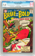 Silver Age (1956-1969):Adventure, The Brave and the Bold #9 (DC, 1956) CGC FN/VF 7.0 Off-white pages....