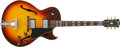 Musical Instruments:Electric Guitars, 1969 Gibson ES-175 Guitar, #54100.... (Total: 2 Items)