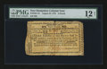 Colonial Notes:New Hampshire, New Hampshire August 24, 1775 £3 PMG Fine 12 Net.. ...