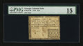 Colonial Notes:Georgia, Georgia 1776 $1/4 PMG Choice Fine 15.. ...