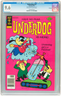 Bronze Age (1970-1979):Cartoon Character, Underdog #13 File Copy (Gold Key, 1977) CGC NM+ 9.6 Off-white towhite pages....