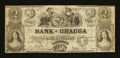 Obsoletes By State:Ohio, Painesville, OH- Bank of Geauga $2 Nov. 18, 1854. ...
