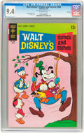 Bronze Age (1970-1979):Cartoon Character, Walt Disney's Comics and Stories #354 File Copy (Gold Key, 1970)CGC NM 9.4 Off-white pages....