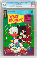 Bronze Age (1970-1979):Cartoon Character, Walt Disney's Comics and Stories #355 File Copy (Gold Key, 1970)CGC NM 9.4 Off-white to white pages....