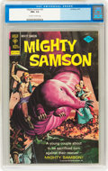 Bronze Age (1970-1979):Miscellaneous, Mighty Samson #25 (Gold Key, 1974) CGC NM+ 9.6 Off-white to whitepages....