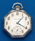Timepieces:Pocket (post 1900), South Bend 21 Jewel Studebaker. ...