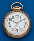Timepieces:Pocket (post 1900), Illinois 23 Jewel 60 Hour Bunn Special. ...