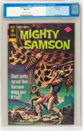 Bronze Age (1970-1979):Miscellaneous, Mighty Samson #31 File Copy (Gold Key, 1976) CGC NM 9.4 Off-whiteto white pages....