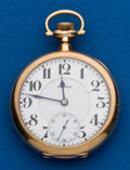 Timepieces:Pocket (post 1900), E. Howard 14K Gold Series O, 23 Jewels. ...