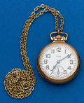 Timepieces:Pocket (post 1900), Elgin 21 Jewel B.W Raymond. ...