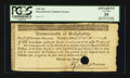 Colonial Notes:Massachusetts, Massachusetts 1781 $16 PCGS Apparent Very Fine 35, HOC.. ...