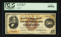 Large Size:Gold Certificates, Fr. 1192 $50 1882 Gold Certificate PCGS Very Fine 30PPQ.. ...