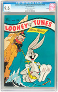 Golden Age (1938-1955):Cartoon Character, Looney Tunes and Merrie Melodies Comics #125 File Copy (Dell, 1952)CGC NM+ 9.6 Off-white to white pages....